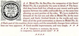 Ben Hur Bicycle 5