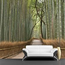 Wall Mural Decals Nature by Bamboo Grove Wall Mural U2013 Majestic Wall Art