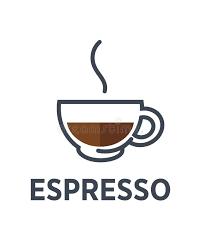 Coffee Espresso Drink Steam Cup Vector Flat Cafe Icon Stock Rh Dreamstime Com