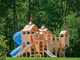 Outdoor Rooms Add Livable Space | HGTV Pikler Triangle Dimeions Wooden Building Blocks Wood Structure 10 Amazing Outdoor Playhouses Every Kid Would Love Climbing 414 Best Childrens Playground Ideas Images On Pinterest Trying To Find An Easy But Cool Tree House Build For Our Three Rope Bridge My Sons Diy Playground Play Diy Plans The Kids Youtube Best 25 Diy Ideas Forts 15 Excellent Backyard Decoration Outside Redecorating Ana White Swing Set Projects Build Your Own Playset