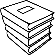 Coloring Pages For Stack Of School Books