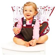 My Little Seat Infant Travel High Chair - Pocket Full Of Posies