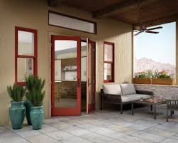 Outswing French Patio Doors by French Out Swing Swinging Glass Patio Door Essence Series