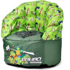 100 Kids Bean Bag Chairs Walmart Nickelodeon Teenage Mutant Ninja Turtles Chair Decorating