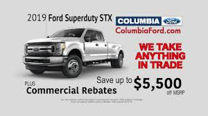 100 Rebates On Ford Trucks Save Up To 5500 Off A New 2019 Superduty Plus