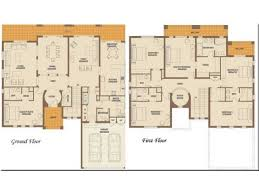 Six Bedroom Floor Plans