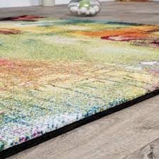 teppich wohnzimmer teppich bunt