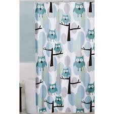 Boscovs Blackout Curtains by Maytex Owl Blue Fabric Shower Curtain Boscov U0027s