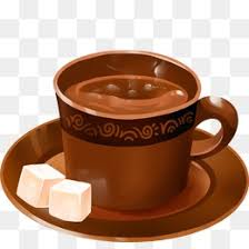 Coffee And White Sugar Block Cup Tea PNG PSD
