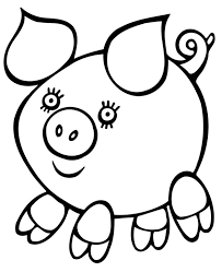 Coloring Pages Easy Drawings For Kids Adults