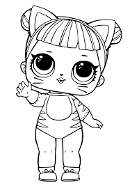 1024x1480 Awesome Lol Surprise Doll Coloring Pages Design Free Book