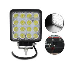 IP67 Waterproof Offroad Truck 4x4 Led Driving Light 2PCS Square ... Best Led Spotlights For Trucks Amazoncom Truck Lite Led Spot Light With Ingrated Mount 81711 Trucklite Rigid Industries D2 Pro Flush Mount Lights 1513 Senzeal 5d 90w 9000lm Cree Chip Flood Beam Offroad Work Great Whites Lights 4wds Cars 2x 4inch 1800lm 18wcree Led Bar Spotflood Lamp Green Hunting Fishing 10 Inch High Power For Vehicles 18w Cree Pod Fog Jeep Off Trucklitesignalstat 4x6 In 1 Bulb 1450 Lumen Black Rectangular 4 Inch 27w Round Amber Ligh 1030v Rund 35w Driving 3 Road Bars Trucks Offroad Sale