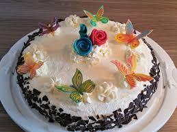sahne nougat torte
