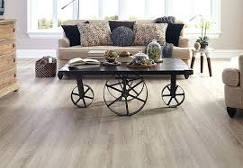 Light Flooring Planks Of Wood Look Vinyl In A Living Room Grey Laminate
