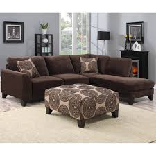 Chocolate Corduroy Sectional Sofa by Porter Malibu Chocolate Brown Sectional Sofa With Ottoman Free