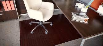 Hard Surface Office Chair Mat by Bamboo Office Chair Mat U2013 Cryomats Org