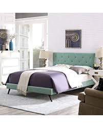 Laguna King Platform Bed With Headboard by After Christmas Shopping Sales On Modway Terisa Laguna Fabric