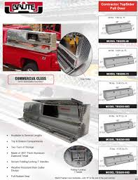 Top Side Truck Tool Boxes