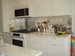 Metal Adhesive Backsplash Tiles by Kitchen Fabulous Metal Backsplash Ideas Lowes Tile Backsplash
