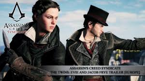 Assassins Creed Syndicate The Twins Evie And Jacob Frye Trailer