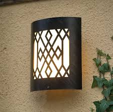 outdoor and patio commercial outdoor wall lighting black with
