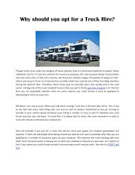 Why Should You Opt For A Truck Hire Pages 1 - 2 - Text Version ... Box Truck Rental 16 Ft Louisville Ky Heavy Leasing No Long Term Contract Vh Trucks Inc Best And Cheapest Ways To Get A Group From Gold Coast Airport Orange County Rentals Oc Super Ten Hauling Service Bucket Boom Ples Electric Penske Reviews Crane Charlotte Nc Services Ame Vision Group Idlease In Murfreesboro Tennessee Tractor Equipment Van Hire Car Minibus Turner Drive Ltd Hino Sydney Moving Budget Canada