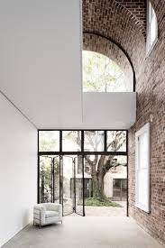 100 Brick Ceiling Double Height Brick Vault Ceiling Italianate House By Renato D