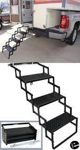 Made Of Sturdy Steel, These Camper Steps Are Built To Last. Their ...