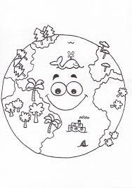 Dibujos Para Pintar Sobre Los Niños Y El Cuidado Del Planeta