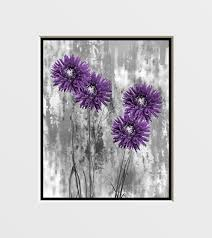 Nice Purple Wall Art For Bathroom M52 Your Home Interior Ideas With
