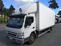 100 Mitsubishi Commercial Trucks MITSUBISHI Fuso CanterFE85PH 420 Closed Box Truck