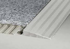 Cutting Schluter Tile Edging by Transitions And Thresholds