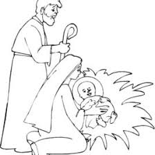 Kids Baby Jesus Coloring Pages Free Printable For Children