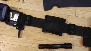 canadian unarmed security duty belt youtube