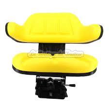 siège à suspension avec dosseret deere 820 830 840 1020