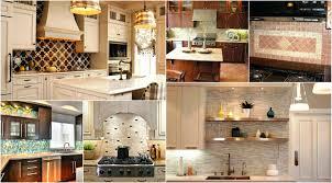 kitchen backsplash mosaic tile designs layered dimensional kitchen