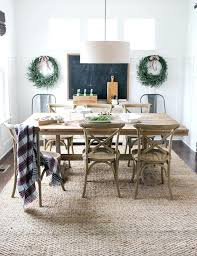 Dining Room Rug Ideas Farmhouse Beige Dinning Rugs Area Guide Best Table On