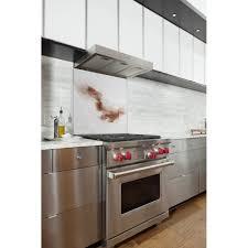 cuisine marron et blanc fond de hotte pour cuisine imprimé marron blanc fantaisie original