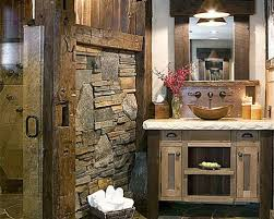 Rustic Style Bathrooms Pleasant Bathroom Design Ideas