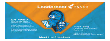 Leadercast May 4 2018
