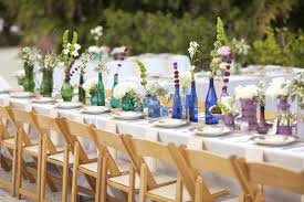 Rustic Wedding Ideas Use Mason Jar Glasses
