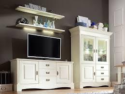 tv schrank set wohnzimmer padua 4 teilig b 294 x h 166 x t 45 cm pinie nordica massiv