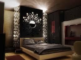 elegante schwarze schlafzimmer dekor dunkel schlafzimmer
