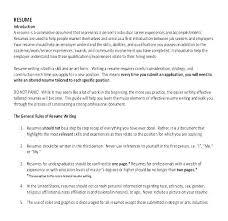 Sample Resume For Writers Example College Federal Job Writing Template Technical