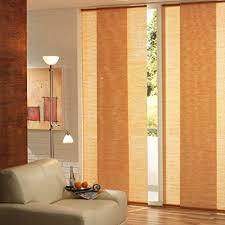 liedeco flächenvorhang schiebevorhang bambus natur b 60 x h 245 cm