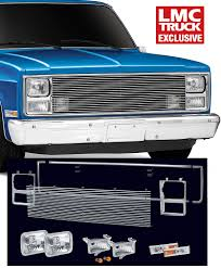 100 88 Chevy Truck Billet Front End Dress Up Kit With 200MM Single Rectangular