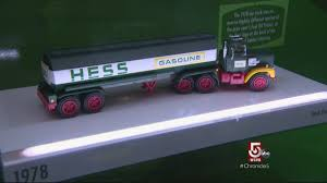 A Happy Birthday For Hess Toy Trucks