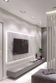 tv wand ideen wandverkleidung innen wohnung wohnzimmer