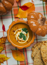 Thai Pumpkin Curry Soup Recipe by The Londoner Thai Pumpkin Soup