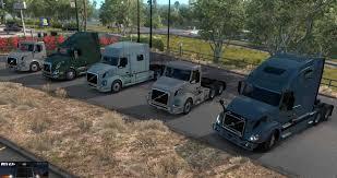 100 The Car And Truck Shop Volvo VNL V14 BSA Revision ATS V132 ATS Mod